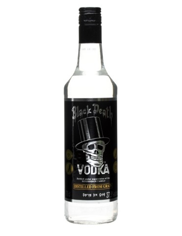 Black Death VODKA, Anglia, 0.7L, 37.5% ABV
