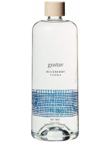 GUSTAV Blueberry Vodka, Finlanda, 0.7L, 40% ABV