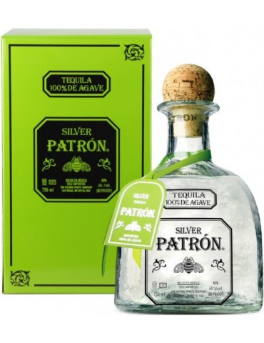 PATRON Silver Tequila, Mexic, 0.7L, 40% ABV