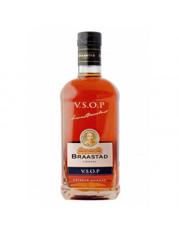 BRAASTAD Cognac, VSOP, Fins Bois, 0.7L, 40% ABV