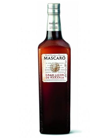 MASCARO Licor De Naranja, Spania, 0.7L, 40% ABV