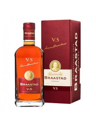 BRAASTAD Cognac, VS, Fins Bois, 1L, 40% ABV