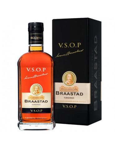 BRAASTAD Cognac, VSOP, Fins Bois, 1L, 40% ABV
