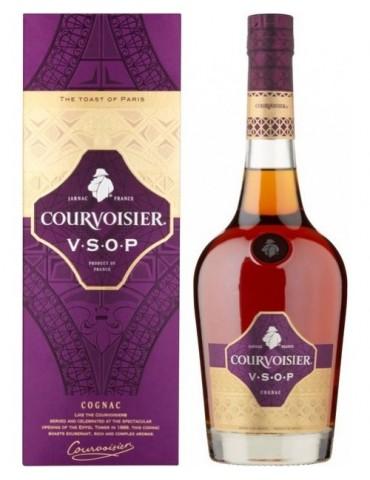 COURVOISIER Cognac Gift Box, VSOP, Blended, 0.7L, 40% ABV