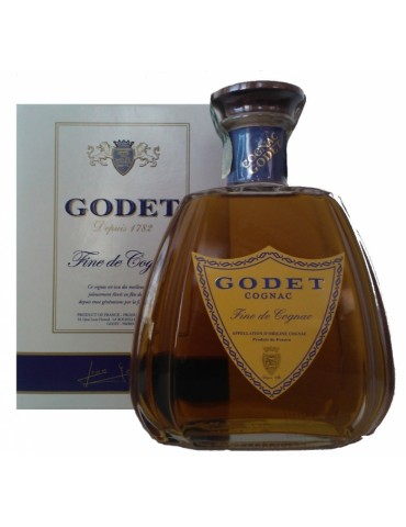 GODET Fine De Cognac, 0.7L, 40% ABV