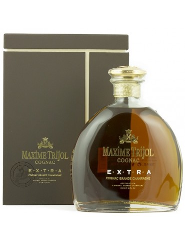 MAXIME TRIJOL Cognac, Extra, Grande Champagne, 0.7L, 40% ABV