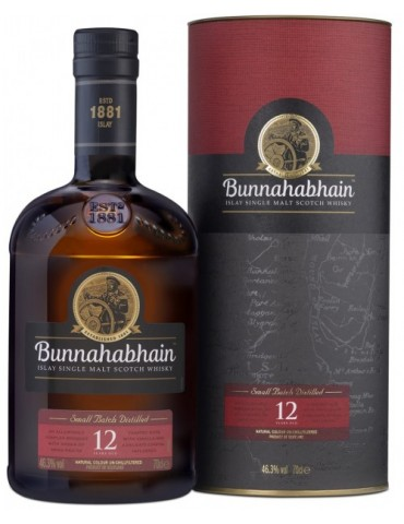BUNNAHABHAIN 12YO, Single Malt, Scotia, 0.7L, 46.3% ABV