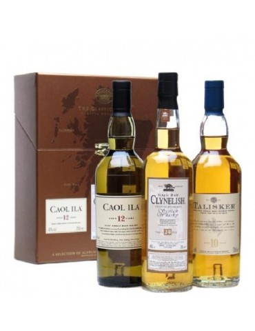 CAOL ILA/CLYNELISH/TALISKER, Single Malt, Scotia, 0.6L, 44.9% ABV