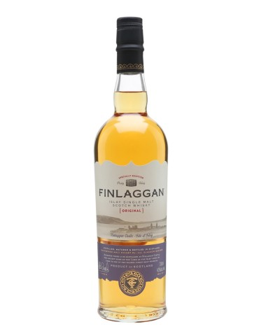 FINLAGGAN Original Peaty, Single Malt, Scotia, 0.7L, 40% ABV