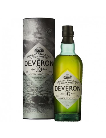 GLEN DEVERON 10YO, Single Malt, Scotia, 0.7L, 40% ABV