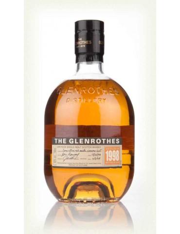 GLENROTHES 1998, Single Malt, Scotia, 0.7L, 43% ABV