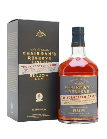CHAIRMAN`S Reserve The Forgotten Casks, St. Lucia, 0.7L, 40% ABV