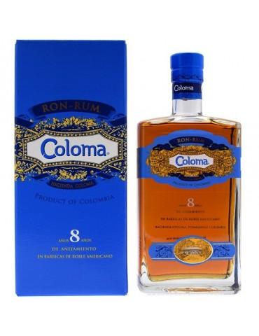 COLOMA 8 YO, Columbia, 0.7L, 40% ABV