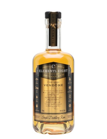 ELEMENTS 8 Gold, St. Lucia, 0.7L, 40% ABV