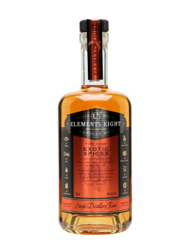 ELEMENTS 8 Spiced, St. Lucia, 0.7L, 40% ABV