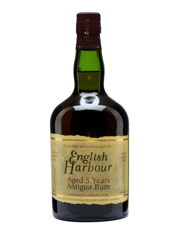 ENGLISH Harbour 5YO, Antigua, 0.7L, 40% ABV