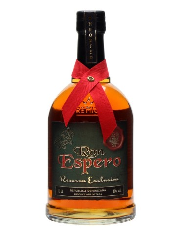ESPERO Reserva Exclusiva, Rep. Dominicana, 0.7L, 40% ABV