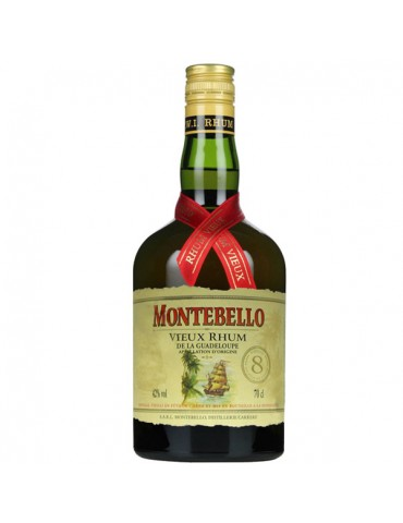 MONTEBELLO Vieux 8YO, Guadelupa, 0.7L, 42% ABV