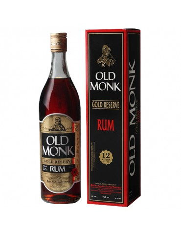OLD MONK 12YO, India, 0.7L, 42.8% ABV