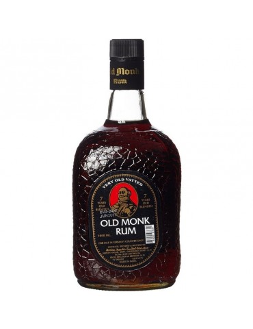 OLD MONK 7YO, India, 1L, 42.8% ABV