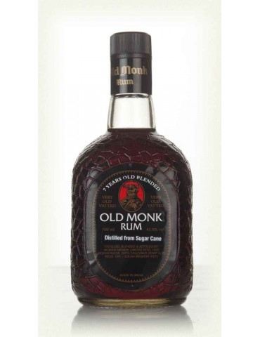 OLD MONK 7YO, India, 0.7L, 42.8% ABV